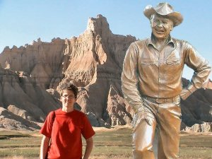 me and Ronald Reagan
