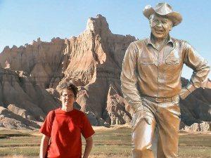 me and Ronald Reagan